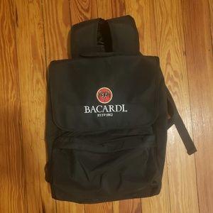 Vintage Black Official Bacardi Rum Backpack